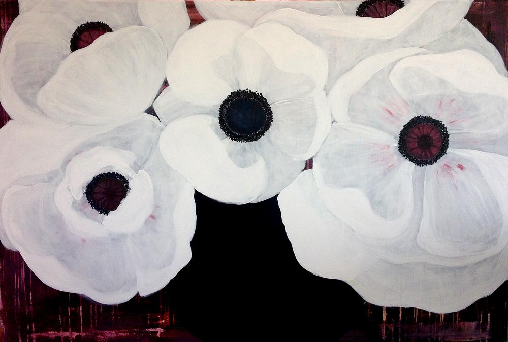 blomstermaleri, maleri