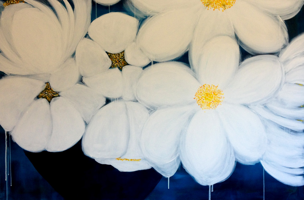 blomstermaleri , maleri
