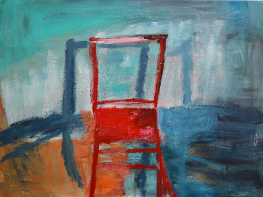 Rød-stol