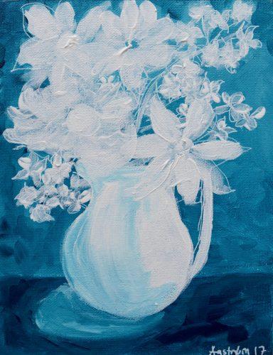 Flora Danica, blomstermaleri, stilleben, maleri, still life, royal copenhagen, nordisk, blomst