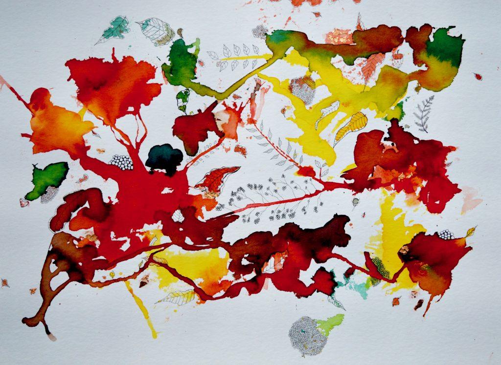 Maleri,abstrakt maleri
