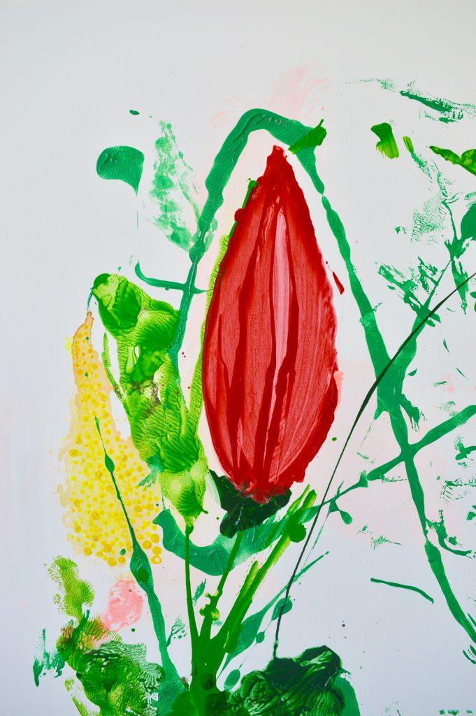 Maleri, botanik, abstrakt