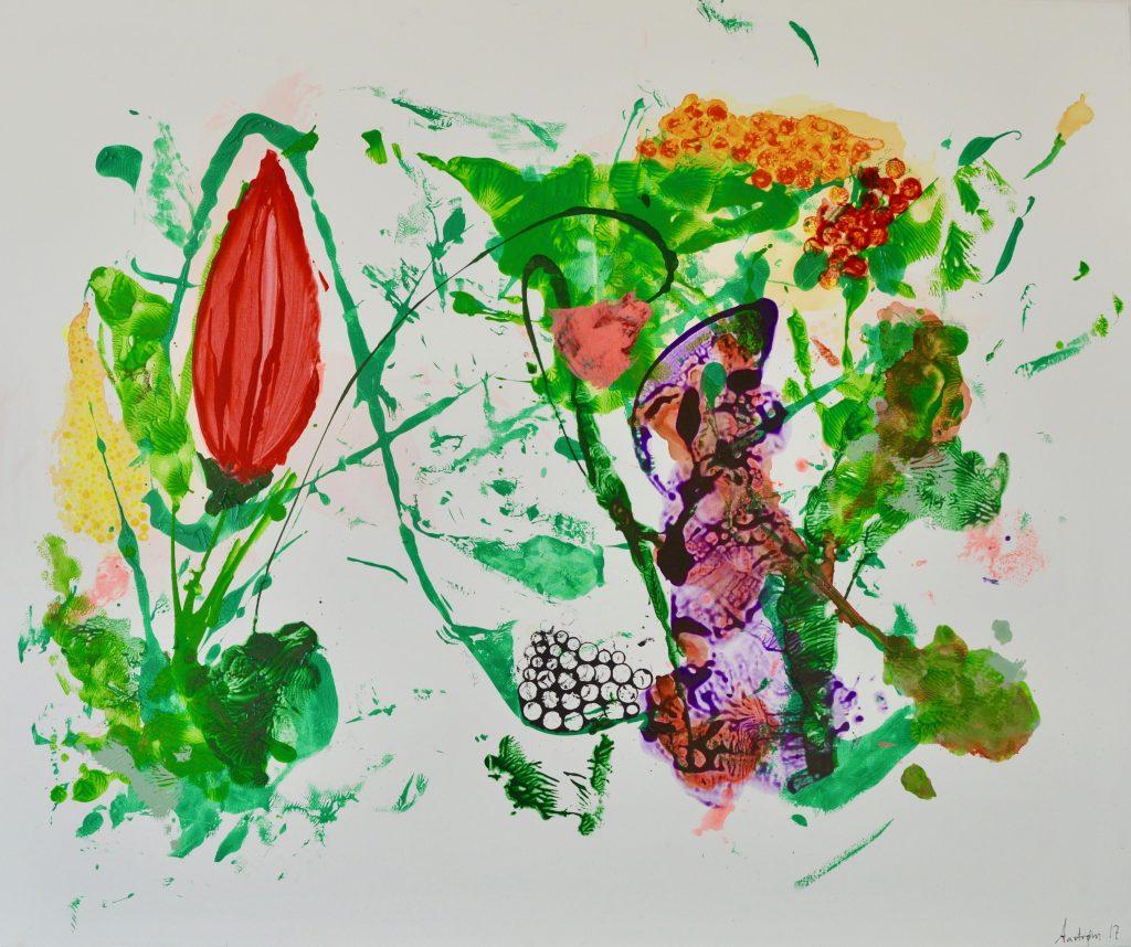 Abstrakt maleri, botanik