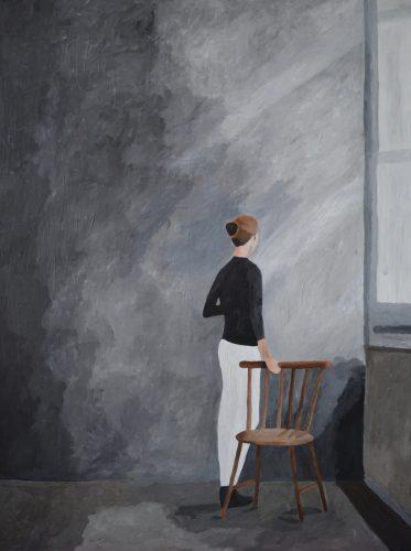 Kunst, maleri, hammershøj, art, dansk