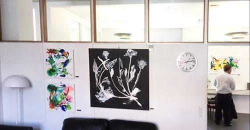 Malerier, kunst, kunstforening, DBS kunstforening