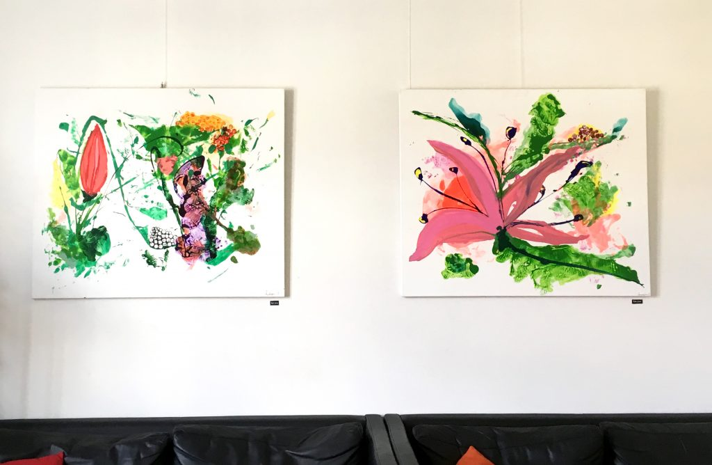 Malerier, kunst, udstilling, kunstforening, DSB kunstforening