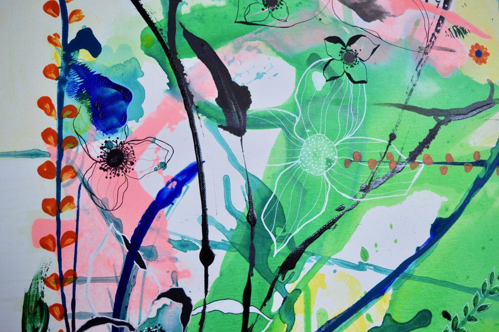 Maleri, botanik, botanic, art, kunst, senegal