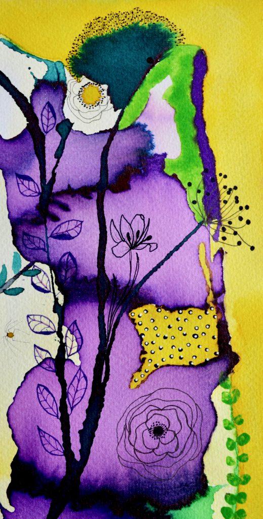 Botanik, bjørn wiinblad, blomstermaleri, botanisk maleri, botanical painting,