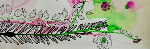 Botanik, botanisk maleri, botanical painting, blomstermaleri, flower painting, bjørn wiinblad