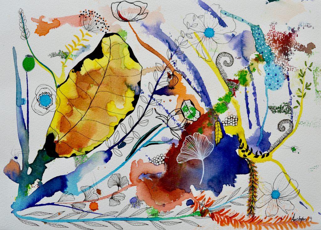 bjørn wiinblad, blomstermaleri. botanical painting, botanik, botany, botanisk maleri, haveliv