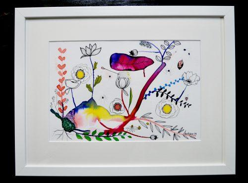 bjørn wiinblad, blomstermaleri, botanisk maleri, botanisk illustration