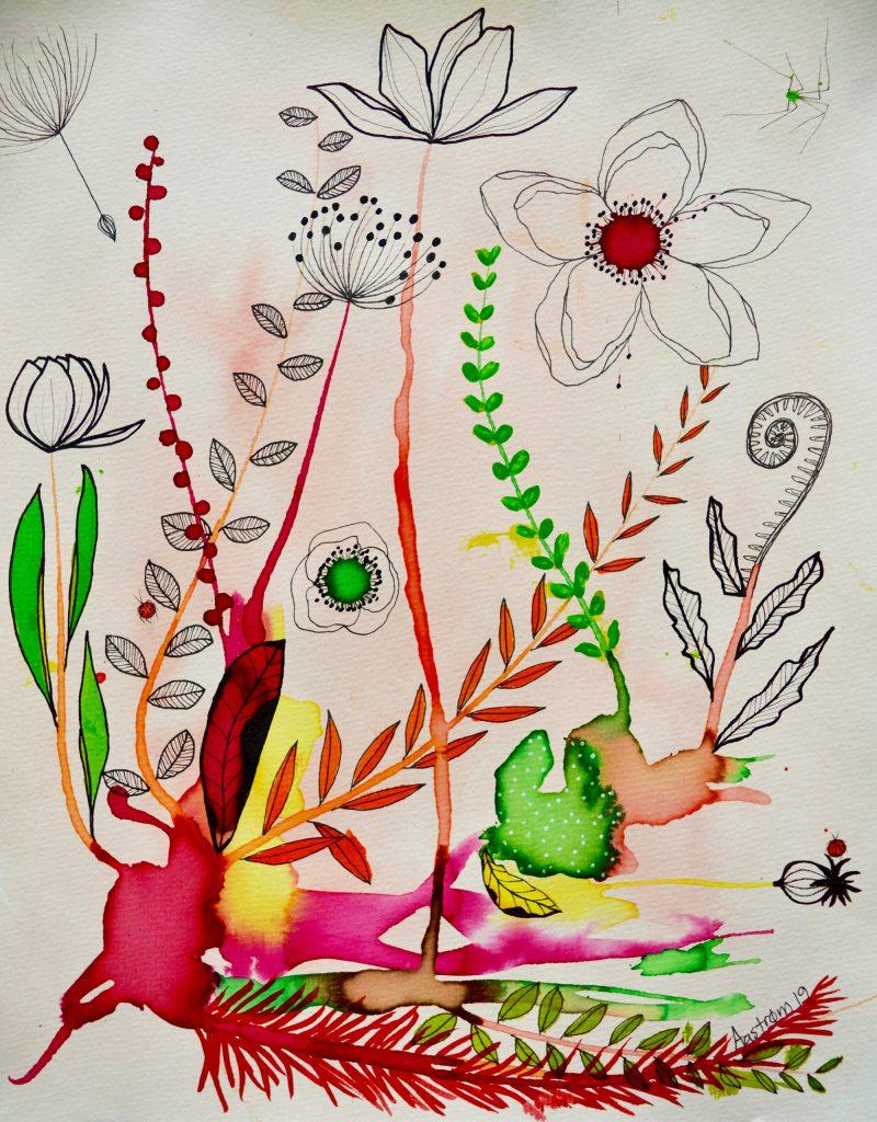 bjørn wiinblad, botanik, blomtermaleri, botanisk illustration